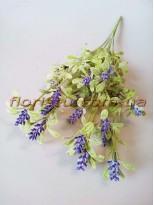 Шалфей искусственный фиолет 45 см