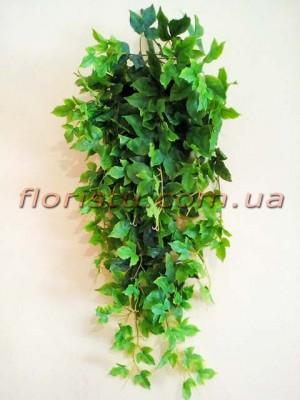 Лиана ампельная искусственная Премиум Люкс №2 дымчато-зеленая 85 см