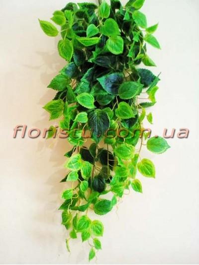 Лиана ампельная искусственная Премиум Люкс №5 Зеленая 85 см